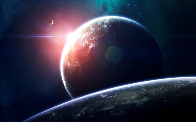 Sztuka kosmiczna, niesamowicie piękna science fiction
