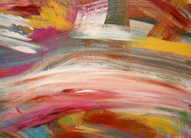 Sztuka tło jasne kolory artystyczne plamy malarstwo.
