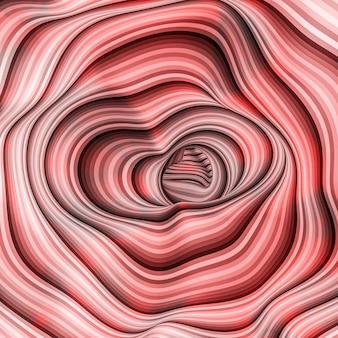 Sztuka wirowa tęcza powitalny kolor abstrakcyjne tło. ilustracja, renderowanie 3d.