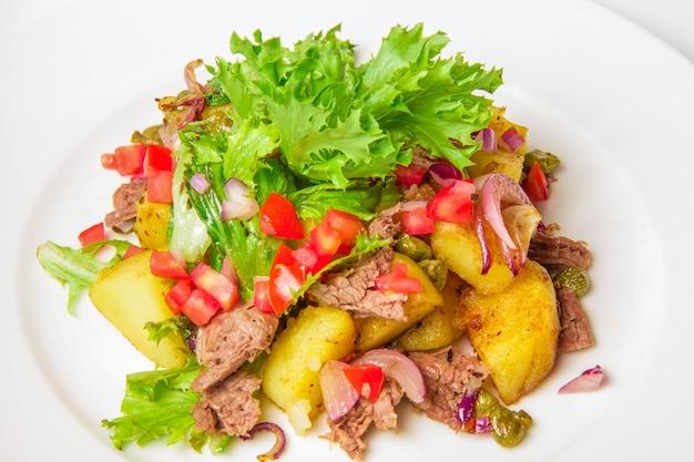 Szwabska sałatka ziemniaczana