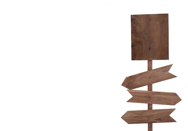 Szyldowy drewniany odosobniony