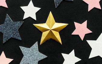 Tło dekoracji gwiazdy