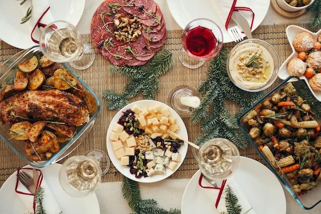 Tabe świątecznej kolacji