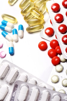 Tabletki na biało