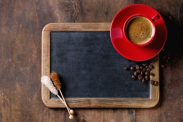 Tablica i kawa