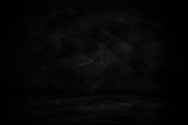 Tablica i tablica, ciemne ściany studio tło