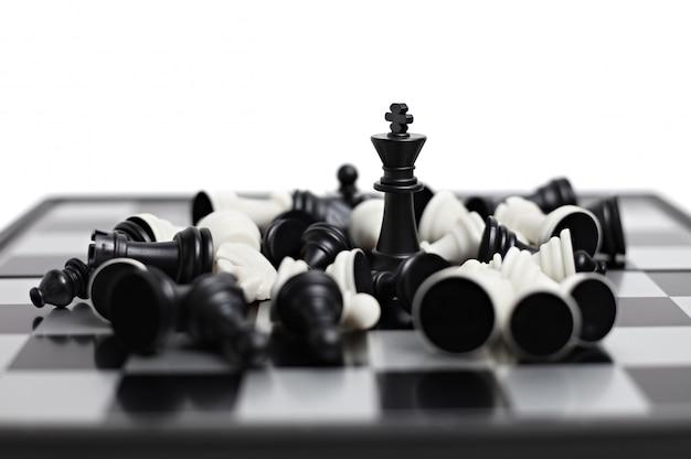 Tablica szachowa z postaciami
