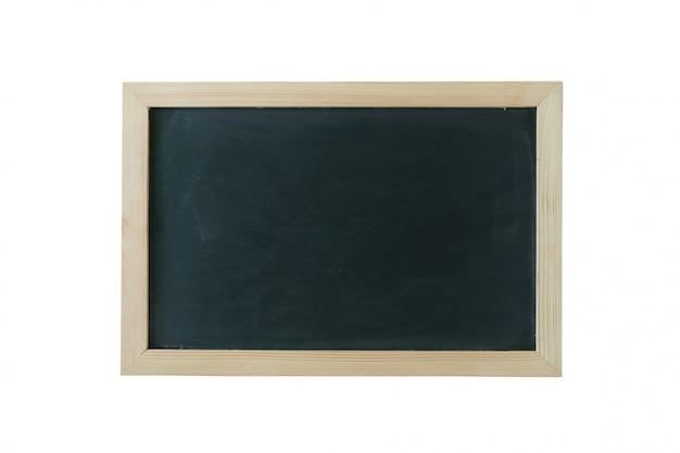 Tablica tło z drewnianą ramą, przetarta brudna tablica.