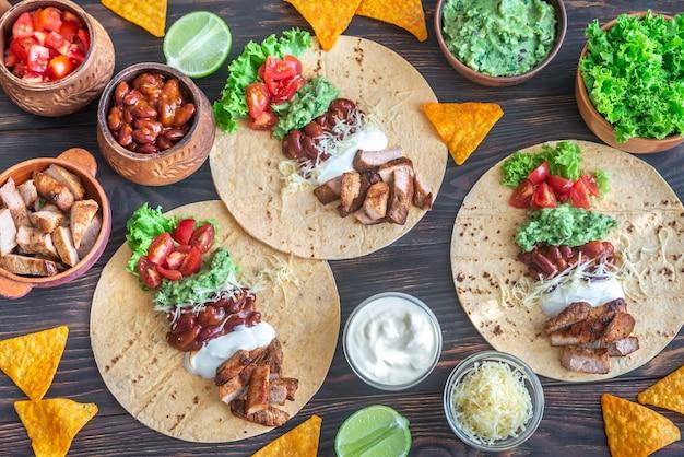 Tacos z nadzieniem
