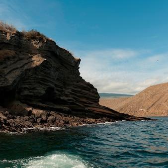 Tagus cove, isabela island, wyspy galapagos, ekwador