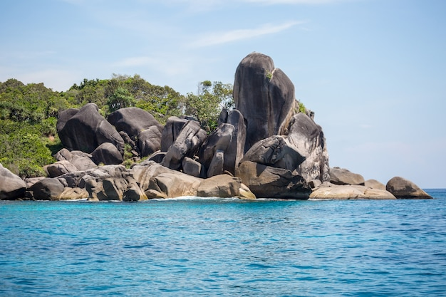 Tajlandia piękne wybrzeże