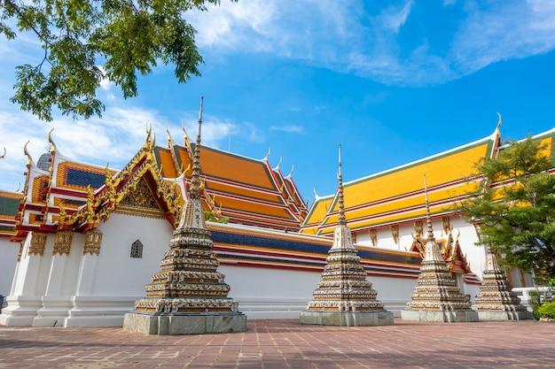Tajlandia świątynia w bangkok, tajlandia