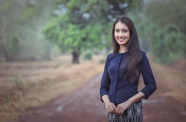 Tajlandzka lokalna kobieta