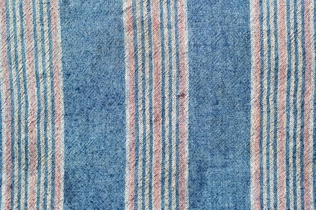 Tajlandzki tkanina wzór tajlandzka stara tkanina od bawełny.