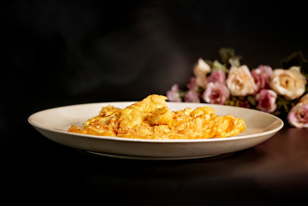 Tajski omlet lub jajecznica