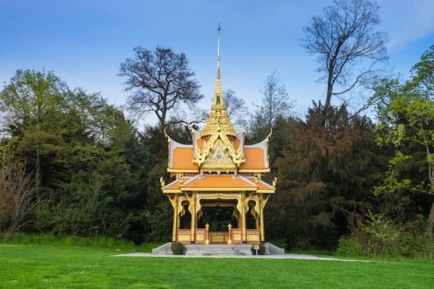 Tajski pawilon w lozannie, szwajcaria