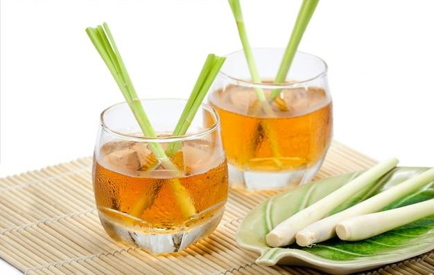 Tajskie napoje ziołowe, trawa cytrynowa