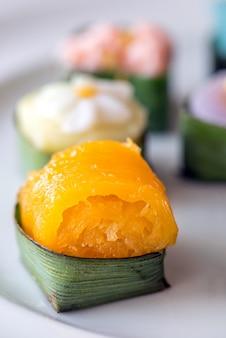 Tajskie słodycze