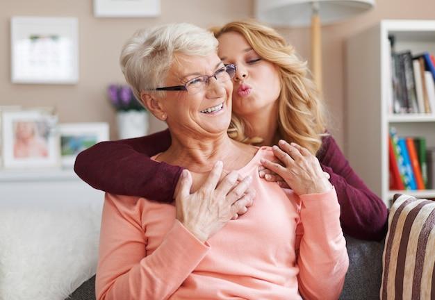 Tak bardzo kocham moją babcię