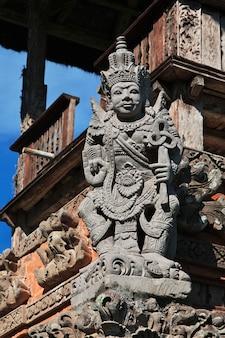 Taman ayun świątynia na bali, indonezja