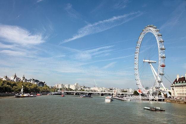 Tamiza z london eye