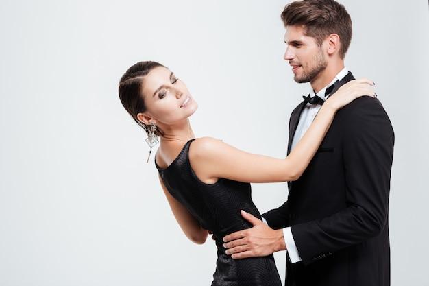 Taniec ludzi biznesu.