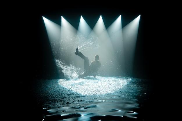Taniec na wodzie