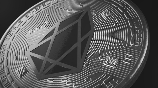 Tapeta na pulpit eos coin