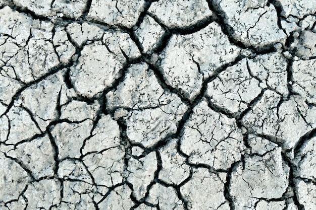 Tapeta, wzory i tekstury popękanej gleby, susza ziemi