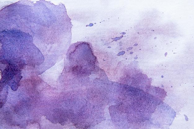 Tapeta z akwarelą z widokiem z góry
