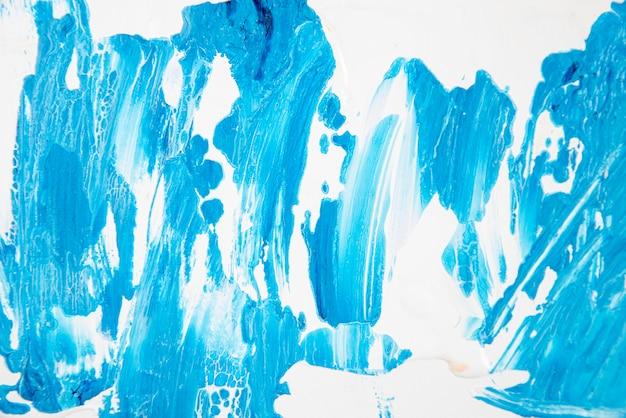 Tapeta z farbą akrylową z widokiem z góry