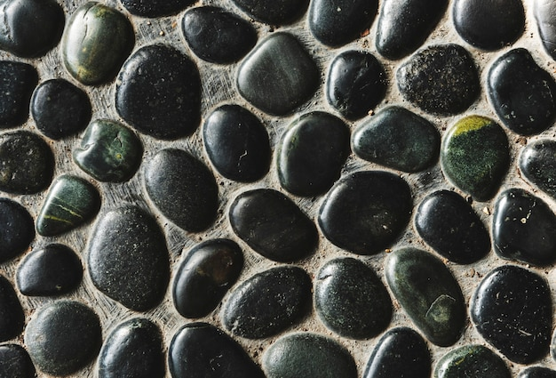 Tapeta z gładką skałą