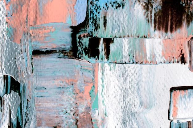 Tapeta z teksturą farby w tle, abstrakcyjna sztuka z mieszanymi kolorami