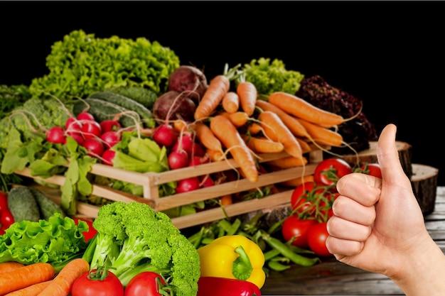 Targ rolniczy - ekologiczne warzywa