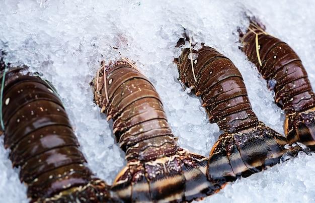 Targ rybny asia ustawia homary