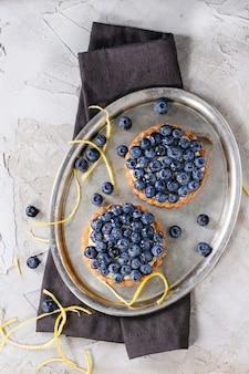 Tartaletki z jagodami