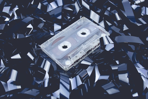 Taśma magnetyczna nie działa w tle kasety