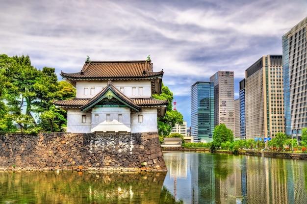 Tatsumi yagura, wieża obronna w pałacu cesarskim w tokio