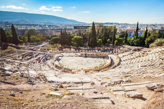Teatr dionizosa, akropol