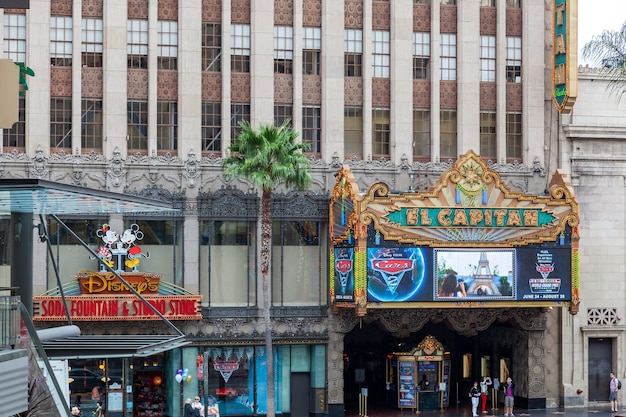 Teatr el capitan w hollywood