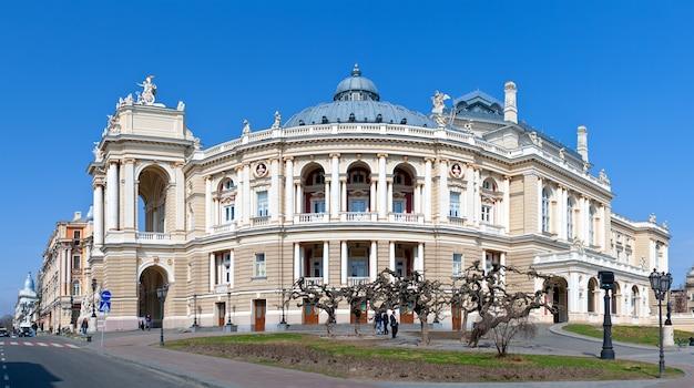 Teatr Opery I Baletu W Odessie Premium Zdjęcia