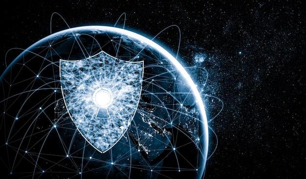 Technologia bezpieczeństwa cybernetycznego i ochrona danych online w innowacyjnej percepcji
