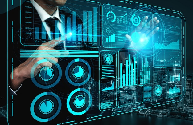 Technologia big data dla koncepcji business finance.