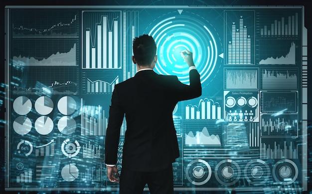 Technologia big data dla koncepcji business finance.