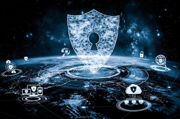Technologia cyberbezpieczeństwa i ochrona danych online w innowacyjnej percepcji