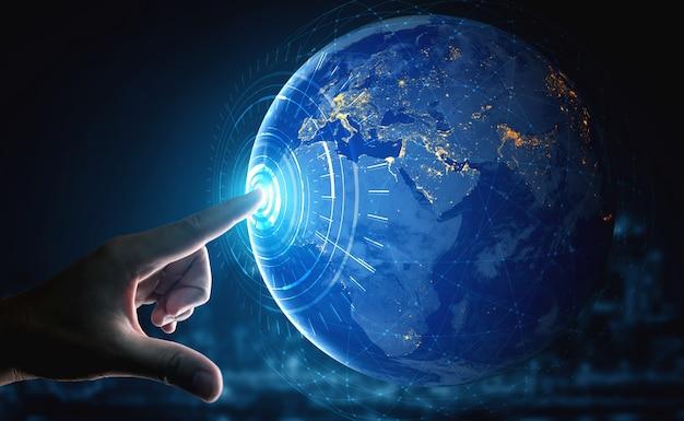 Technologia komunikacji 5g sieci internetowej
