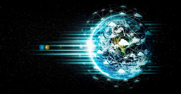 Technologia przetwarzania w chmurze i przechowywanie danych online w innowacyjnym ujęciu
