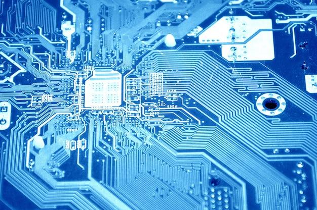 Technologia przyszłe elektroniczny zintegrowany system