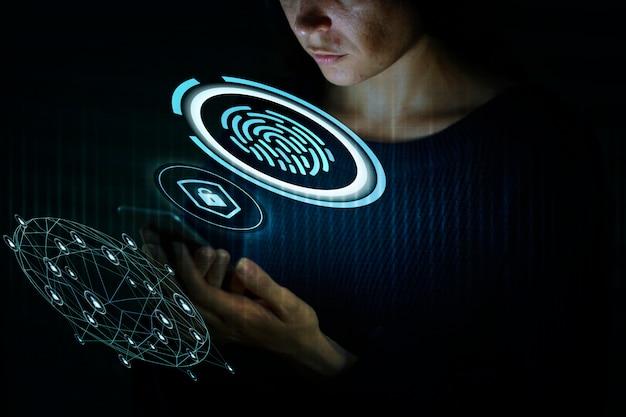 Technologia skanera linii papilarnych