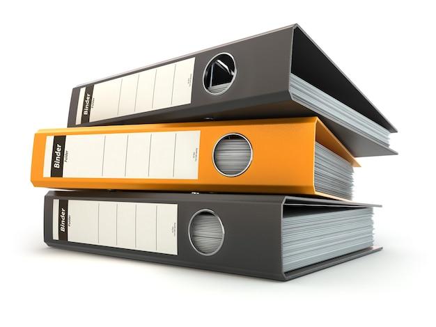 Teczki na dokumenty lub segregatory